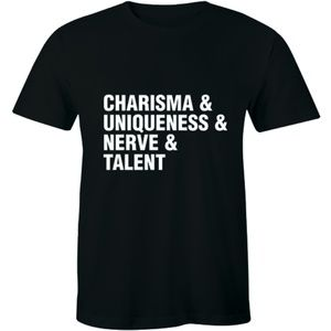 Charisma Uniqueness Nerve Talent Diva T-shirt Tee